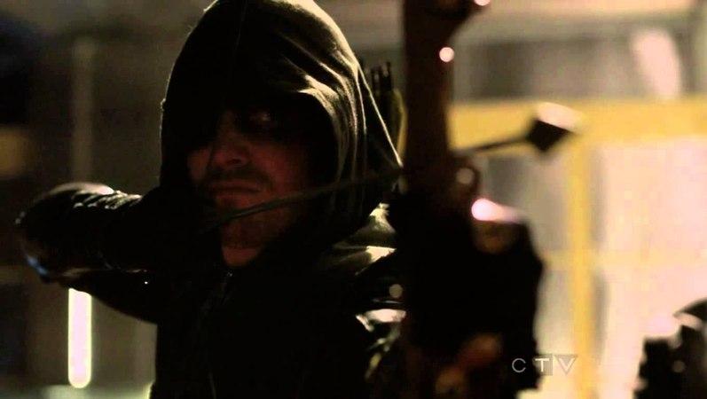 Arrow Oliver Queen Vs. Malcom Merlyn (HD)