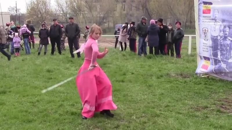 казачьи танцы с шашками