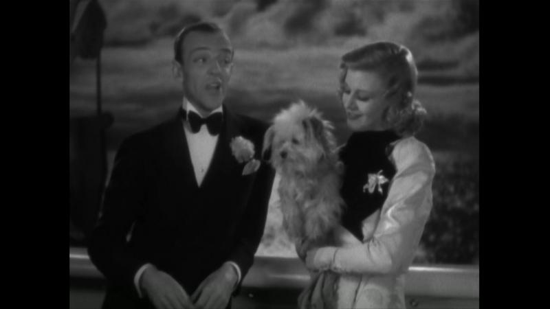 Fred Astaire singing I've Got Beginner's Luck with Ginger Rogers) Песенка Фреда Астера в Х/Ф Давайте потанцуем (1937)