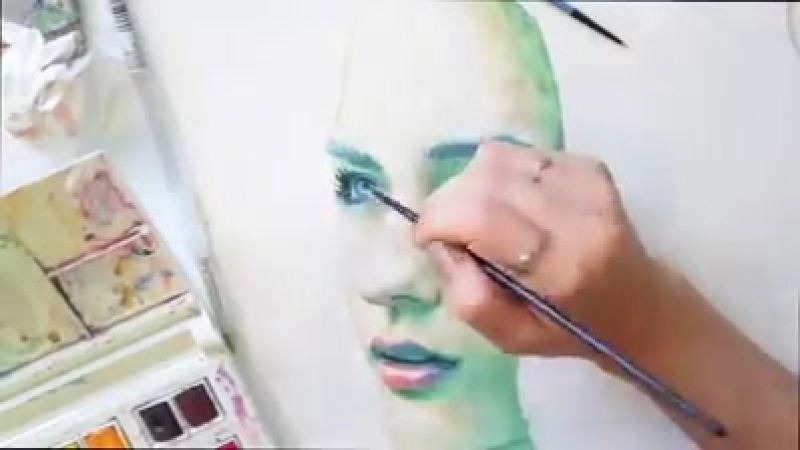 Speed Painting Watercolor Spectrum