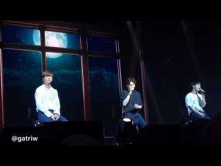 FANCAM : BTOB-BLUE - When It Rains @ Concert in Jakarta
