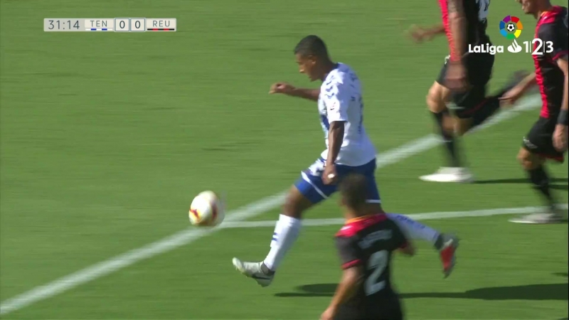 J5 LaLiga 1_2_3- Tenerife 0 - 1 Reus 15-09-2018_Full-HD