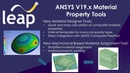 ANSYS V19.x Structural/Mechanical Highlights - New Material Designer Tools