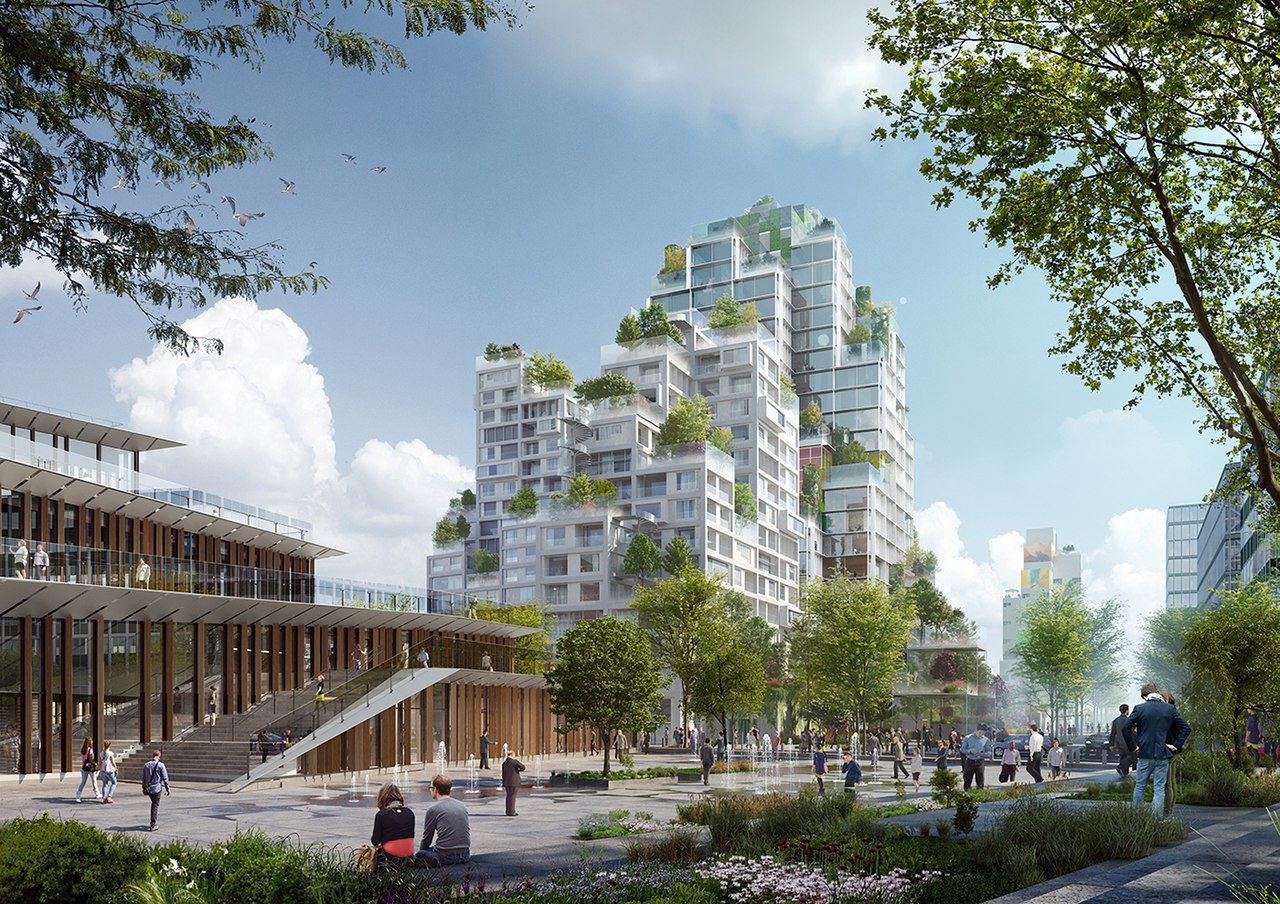 The Montpleyel Mixed-Use Development