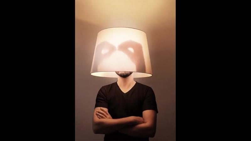 Человек-светильник! Спасет тебя от любого страшного Бабайки)