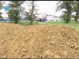 Жители Левого берега Улан-Удэ преградили путь строительной технике