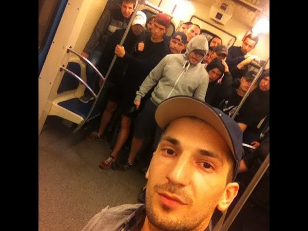 Фанаты Анжи давят ЦСКА