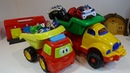 Two Trucks withTOYS for KIDS, Fun Kids Video for Children, Baby Play with Toys,