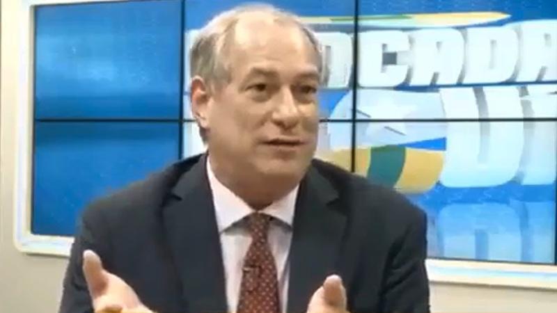 Ciro Gomes sobre João Doria: Esse é um picareta completo