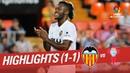 Resumen de Valencia CF vs RC Celta (1-1)