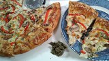 How To Make Cannabis Infused Chicken Alfredo Sourdough Pizza