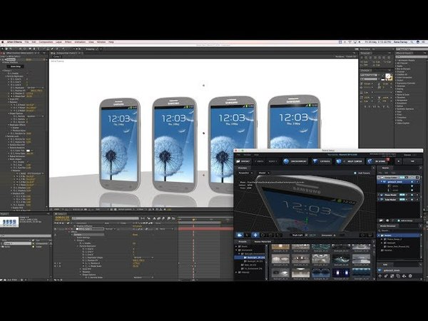 How to Import 3d Model in After Effects cc