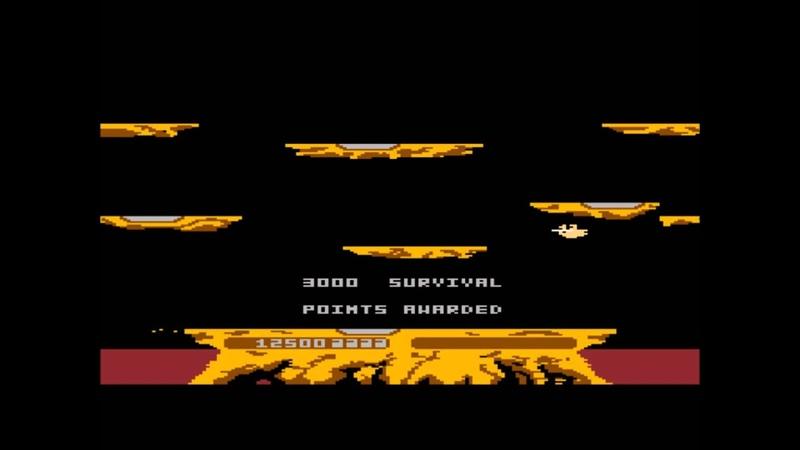 Joust for the Atari 8 bit family