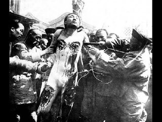 Китайские пытки и казни (18+)