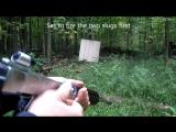 Staplegun .410 самодельный револьвер из степлера