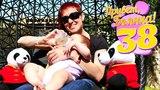 Бьянка и Маша Капуки в отеле. Игры на детской площадке.