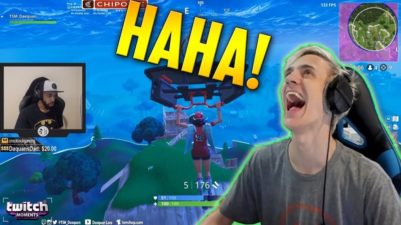 Ninja Reacts To Fortnite Funny Fails and WTF Moments BCC Trolling Twitch Moments