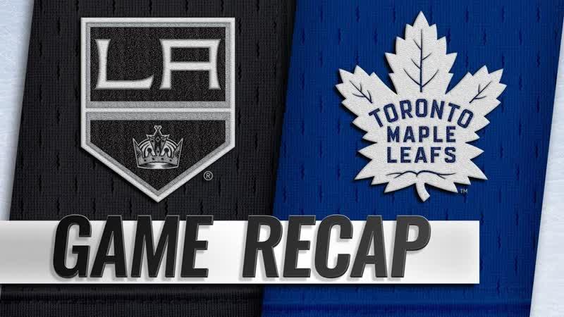 НХЛ - регулярный чемпионат. «Торонто Мэйпл Лифс» - «Лос-Анджелес Кингз» - 41 (20, 11, 10)