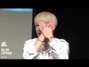 VK160528 MONSTA X fancam Wonho focus @ Ilchi Art Hall Fansign