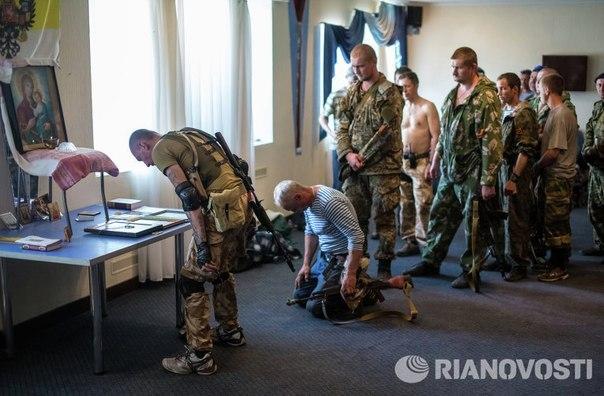 Русский воин не боится смерти, ибо он - Христианин.