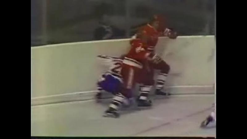 СССР - Канада (Суперсерия 1974 год) Игра 6 (Период 2)