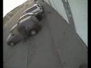 Повезло, припарковался в плохом месте