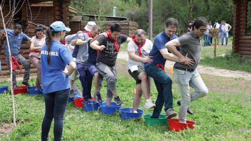 Тимбилдинг в Алматы - Ecober @ Браво