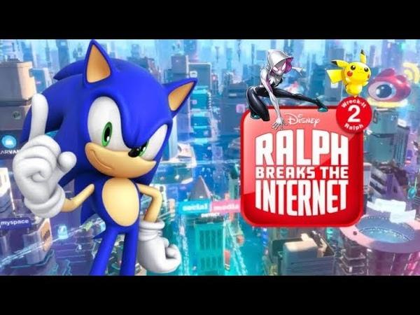 Ralph Breaks The Internet: Sonic The Hedgehog's Cameo