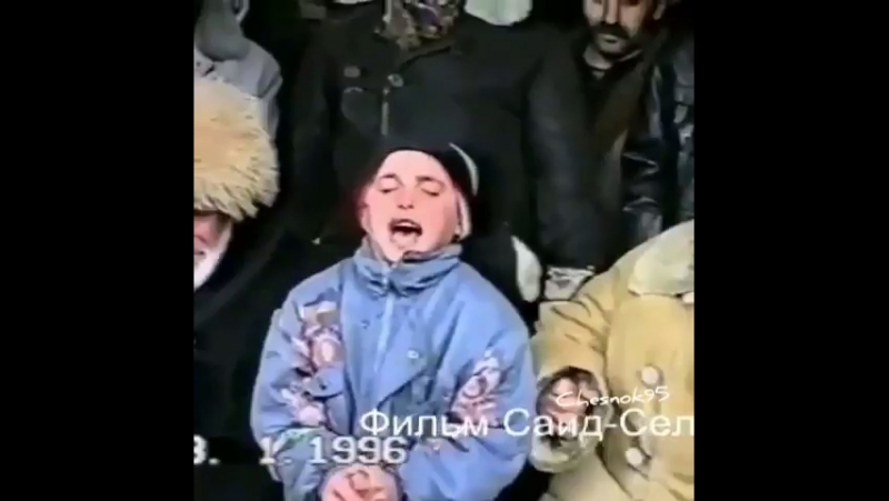 Чечня 1996г.