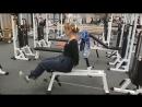 Упражнение разгибание ноги сидя