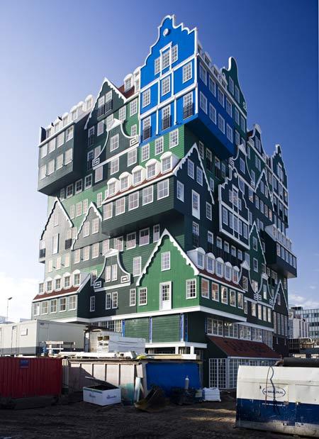 WAM Architecten/ «Inntel hotel», Zaandam, the Netherlands