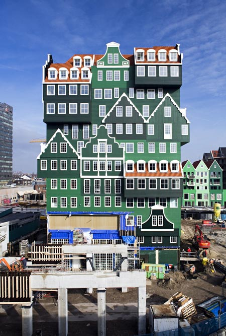 WAM Architecten/ «Inntel hotel», Zaandam, the Netherlands