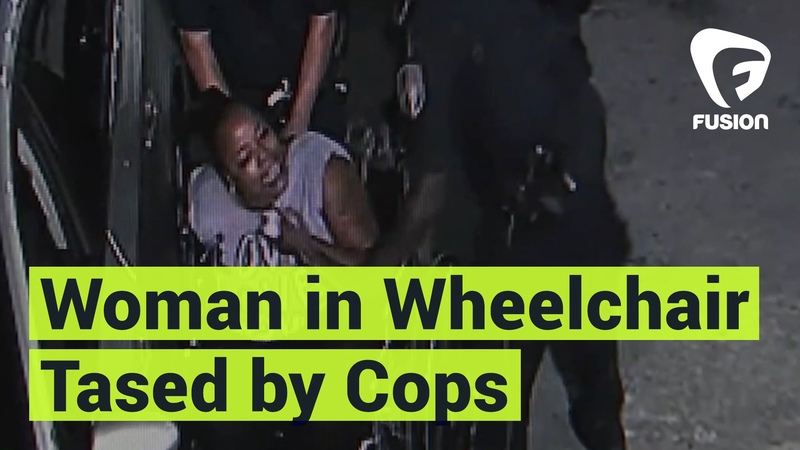 Police Use Taser on Woman in Wheelchair