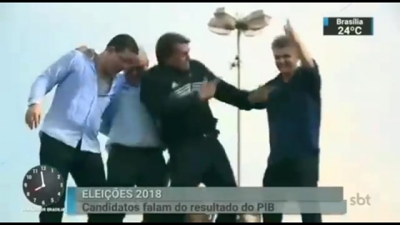 Bolsonaro dançante