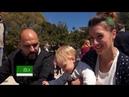 Соборное крещение детей и взрослых в Герцег-Нови