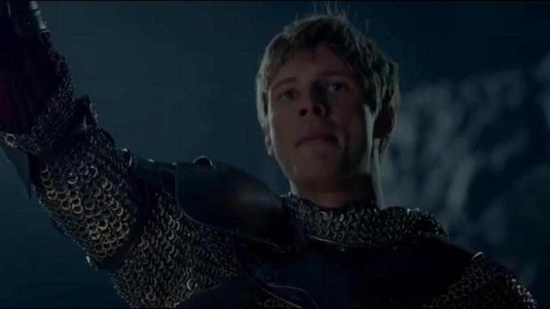 Воззвание Короля Артура перед полуфиналом Англия/Хорватия