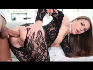 Veronika clark - analed in lace (anal, cumshot, lingerie, long hair, cowgirl, blowjob, toys)