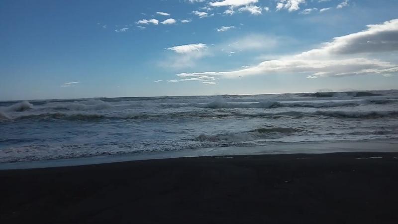 Тихий океан, Халактырский пляж, Камчатка, сентябрь 2018