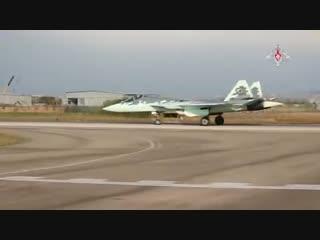 Т-50 ПАК ФА в Сирии