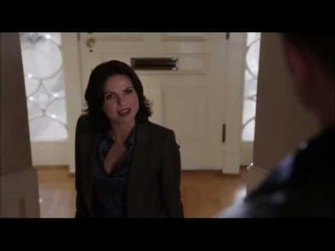 Дэвид приходит к Реджине и спрашивает про шляпу Джефферсона 2x02