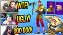 STREAMERS REACT TO *NEW* HACIVAT SKIN *EPIC* SHADOW PUPPET GLIDER Fortnite FUNNY Moments