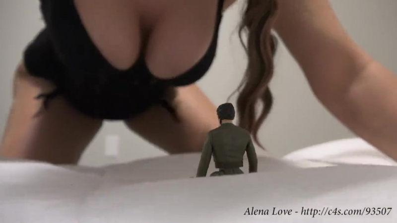 Giantess alena boob and butt crush