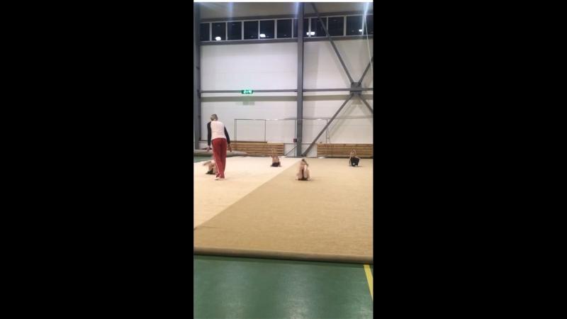 Тренировка у Жевакиной Ксении Романовны
