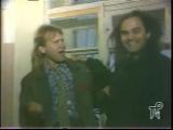 А это с питерского ТВ в 1992 (по-моему) год. Ливер-Пуль - Осеннее Настроение.