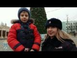 Дети поздравляют сотрудников ставропольской полиции с Новым годом (4)