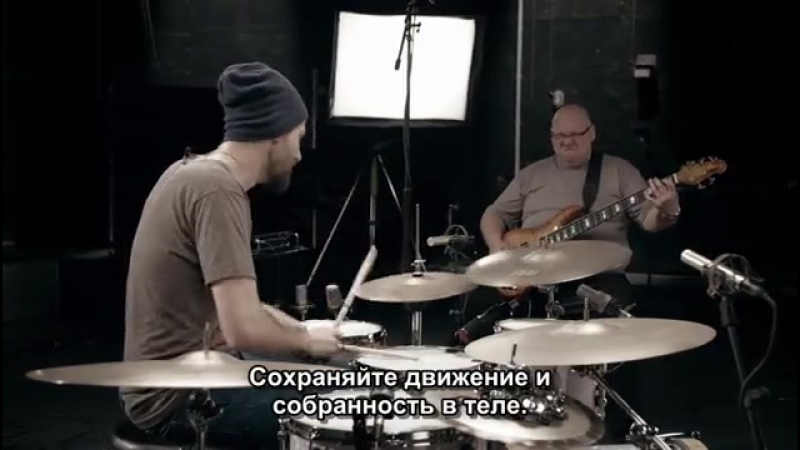 Benny Greb - The Art and Science of GROOVE (с русскими субтитрами)