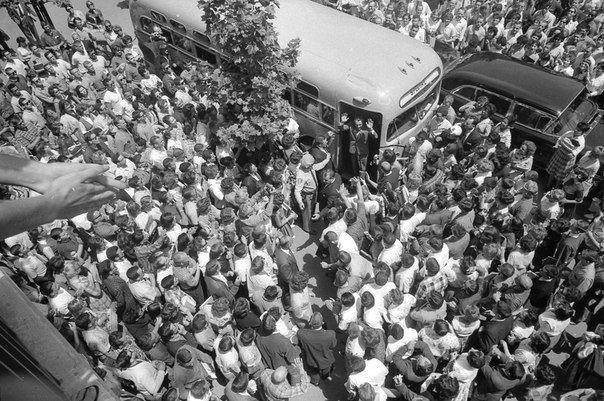 Визит Германа Титова в Сан-Франциско, 7 мая 1962 года.
