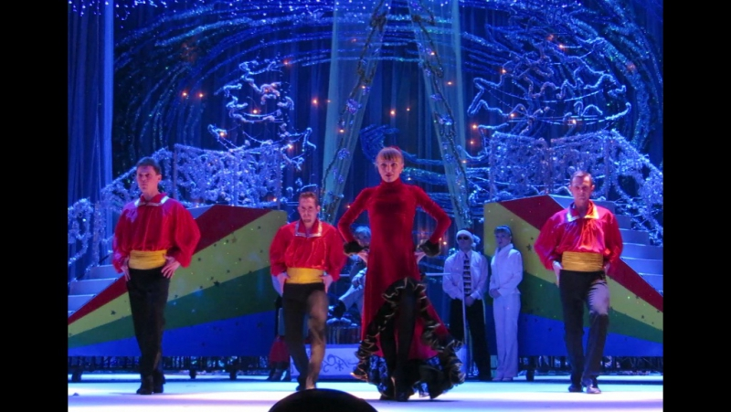 Танцуют Алла Богунова, Алексей Богунов, Дмитрий Ерохин, Николай Тетянников