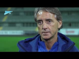Роберто Манчини — о планомерной подготовке к возобновлению сезона и замене формы у «Слована»