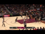 LeBron James with one of the days best plays!